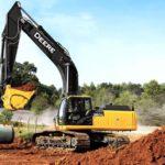 John Deere 25–40 Metric Tons Construction Class Excavators Information