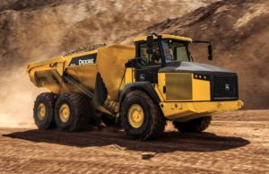 John Deere 410E Articulated Dump Truck price