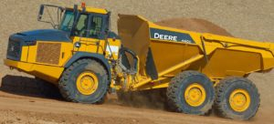 John Deere 460E Articulated Dump Truck price