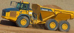 John Deere 460E Articulated Dump Truck price