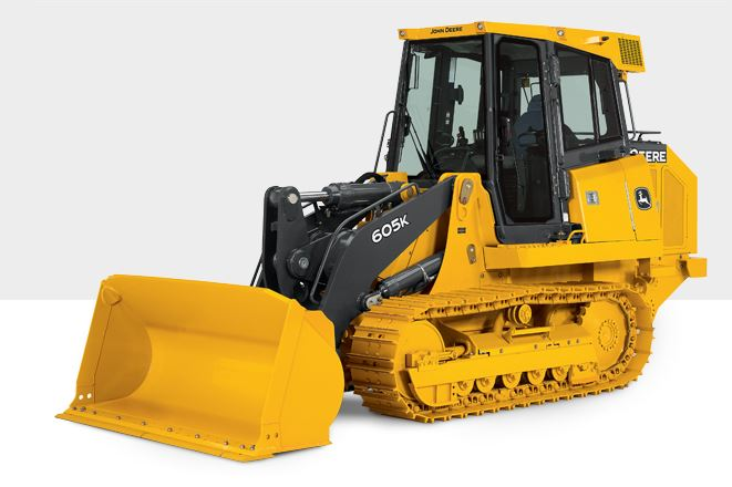 John Deere 605K Crawler Loader Construction Equipment
