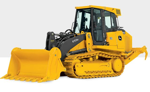 John Deere 655K Crawler Loader Construction Equipment]