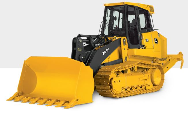 John Deere 755K Crawler Loader Construction Equipment