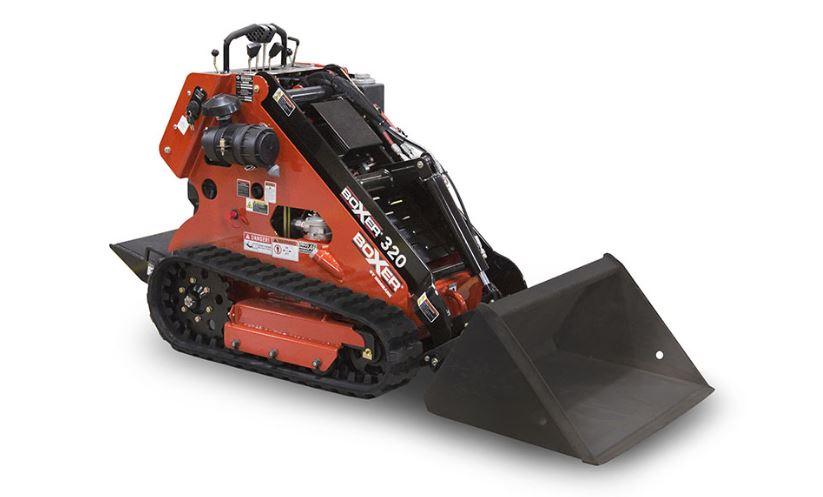 Boxer 320 Mini-Skid Steer Overview