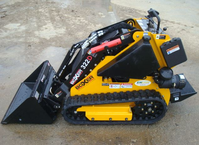 Boxer 322D Mini-Skid Steer Key Features