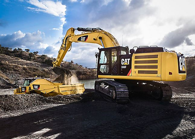 CAT 336F L Large Excavator Price