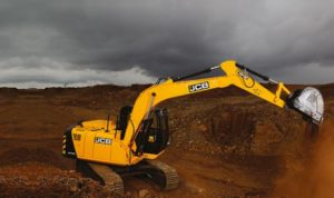 JCB JS 120 Tracked Excavator price in india