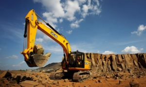 JCB JS 205LC Tracked Excavator price in india