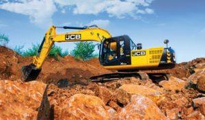 JCB JS 220LC Tracked Excavator price in india