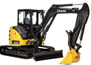 John Deere 50G Compact Excavator