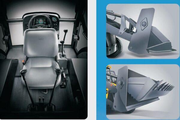 Mahindra EarthMaster 4WD Backhoe Loader Superior Convenience And Comfortable Design