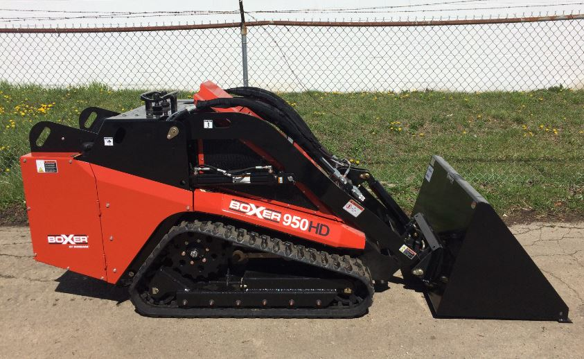 Boxer 950HD Mini Skid-Steer Key Features