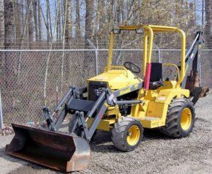 Terramite T7 Compact Tractor Loader Backhoe
