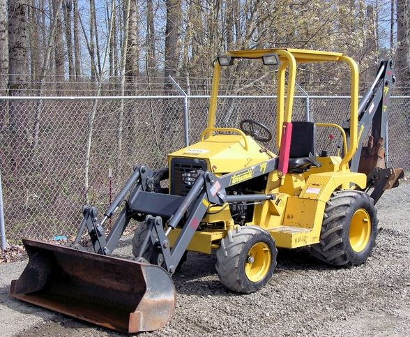 Terramite T7 Compact Tractor Loader Backhoe