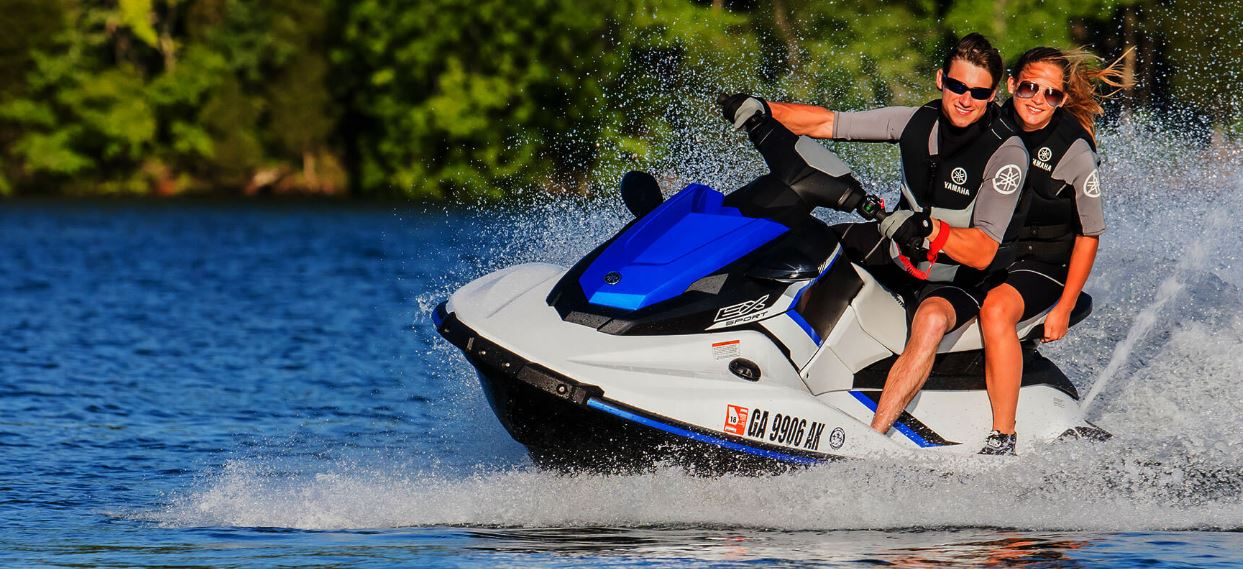 Yamaha EX Rec-Lite Waverunner Water Craft Overview