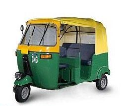 Bajaj RE Optima CNG Auto Rickshaw