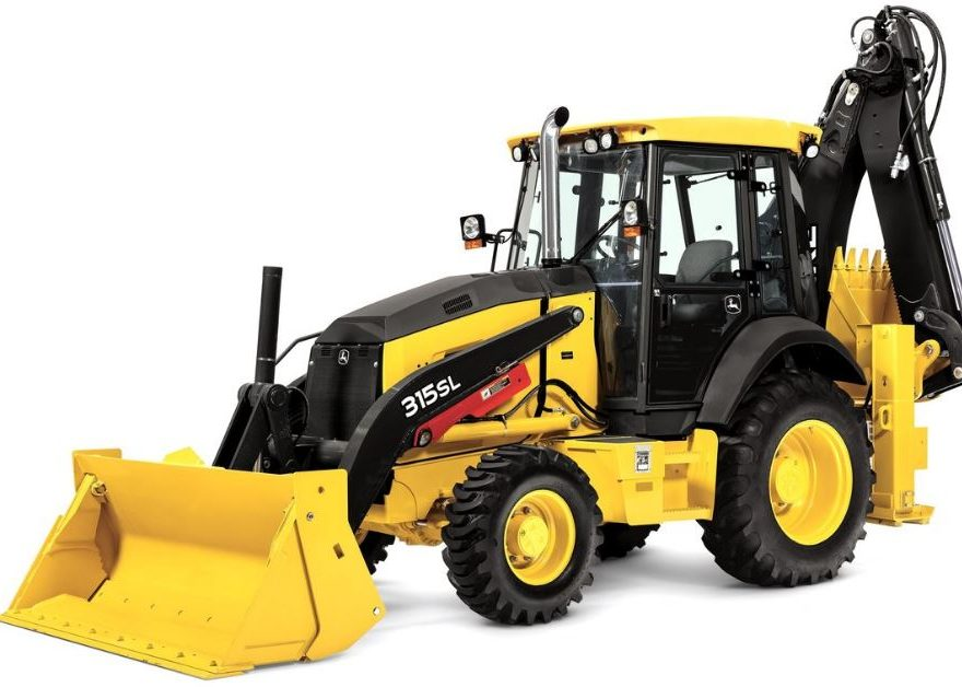 John Deere 315SL Backhoe Construction Equipment