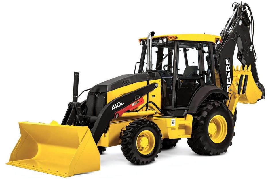 John Deere 410L Backhoe Weight Price Specs Features