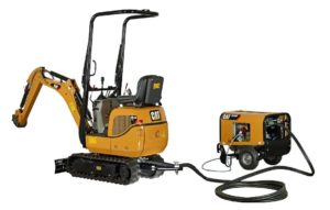 Caterpillar 300.9D VPS and HPU300 Mini excavator