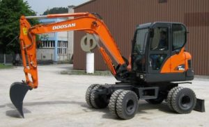 DOOSAN DX55W Wheel Excavators
