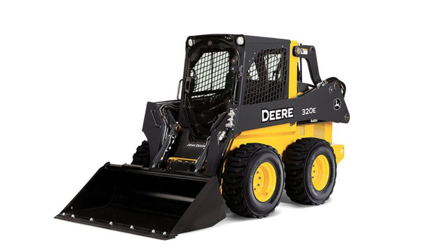 John Deere 320E Skid Steer Construction Equipment