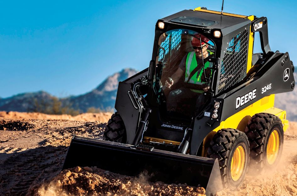 John Deere 324E Skid Steer Key Features