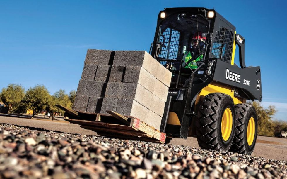 John Deere 324E Skid Steer Price