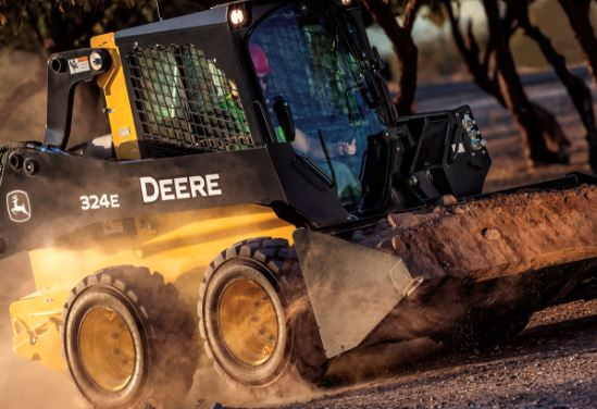 John Deere 324E Skid Steer Specifications