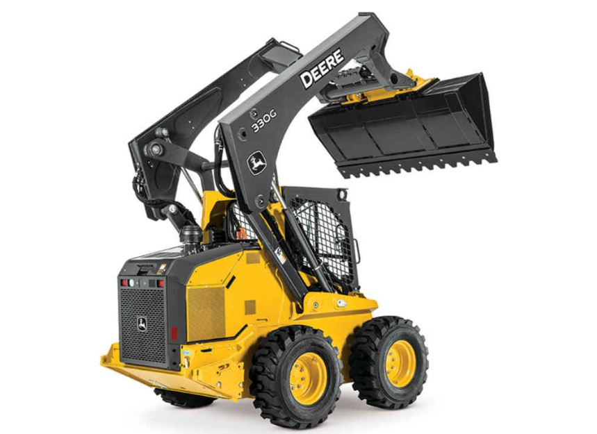 John Deere 330G Skid Steer Construction Equipment