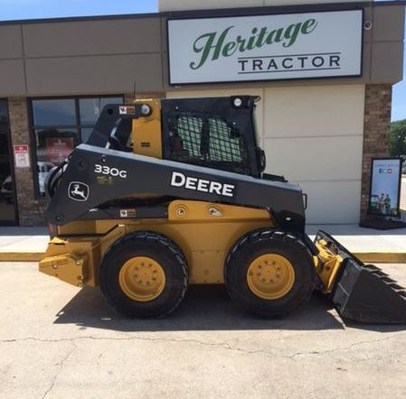 John Deere 330G Skid Steer Key Features
