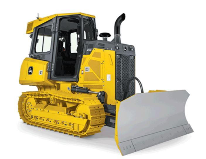 John Deere 450K Crawler Dozer Construction Equipment