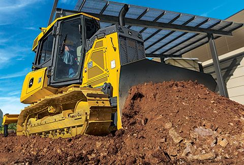 John Deere 450K Crawler Dozer Key Features