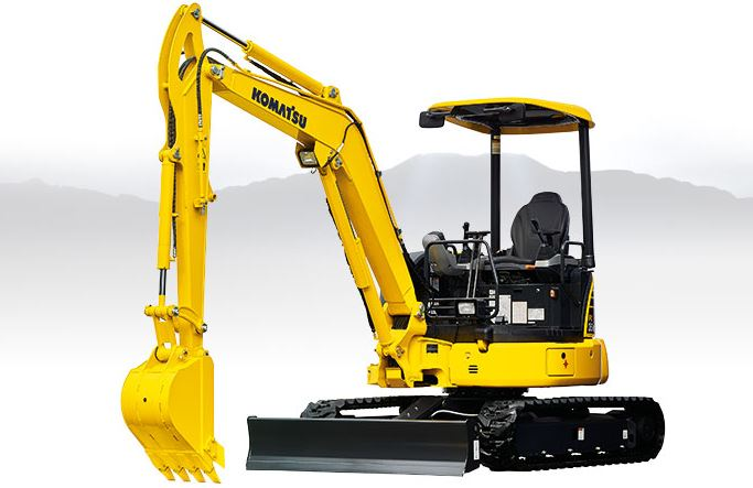 Komatsu PC30MR-5 Mini Excavator Price
