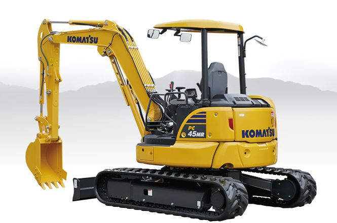 Komatsu PC45MR-5 Mini Excavator price
