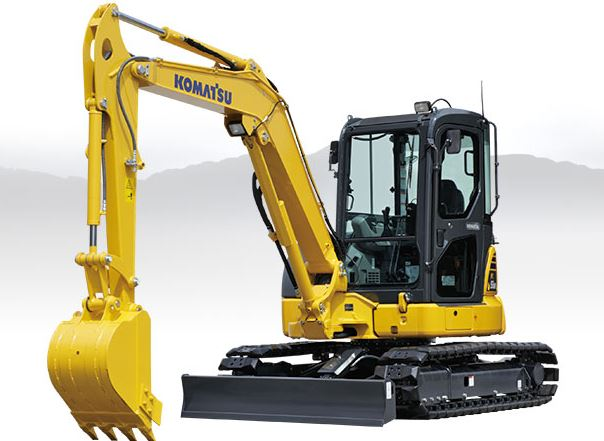 Komatsu PC55MR-5 Mini Excavator price
