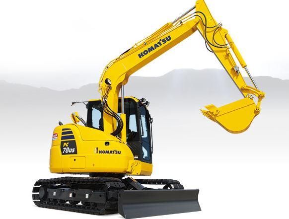 Komatsu PC78US-10 Mini Excavator price