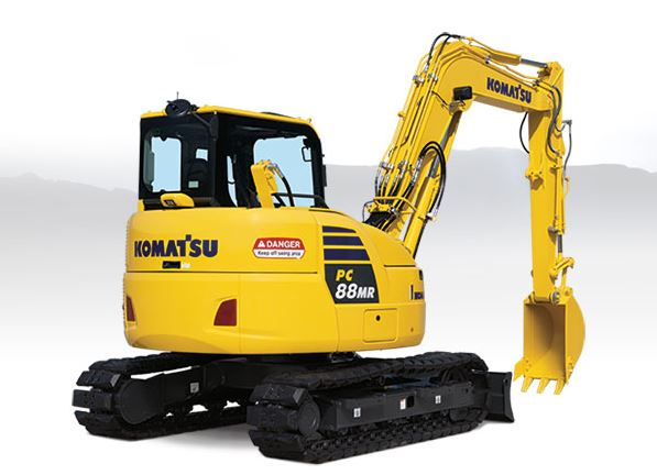 Komatsu PC88MR-10 Mini Excavator price