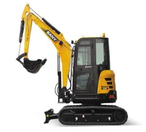 SANY SY35U 3.5 Tonne Excavator price in India