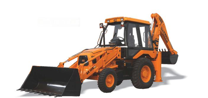 ACE AX-130 Backhoe Loader