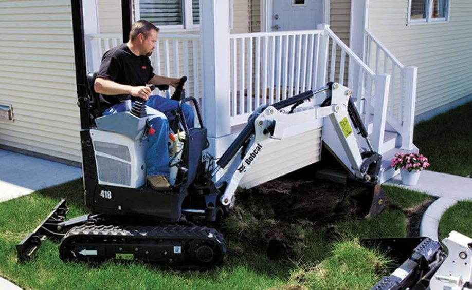 Bobcat 418 Compact Excavator Key Facts