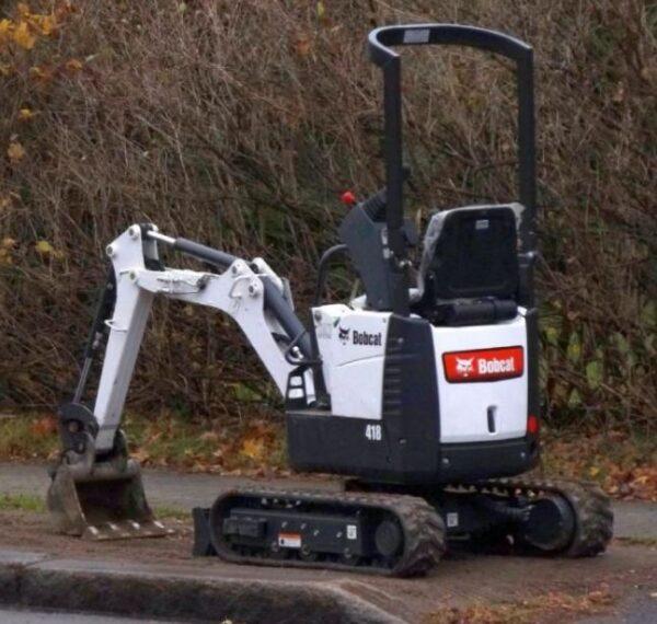 【Bobcat 418 Compact Excavator】Price Specs Review Video ...