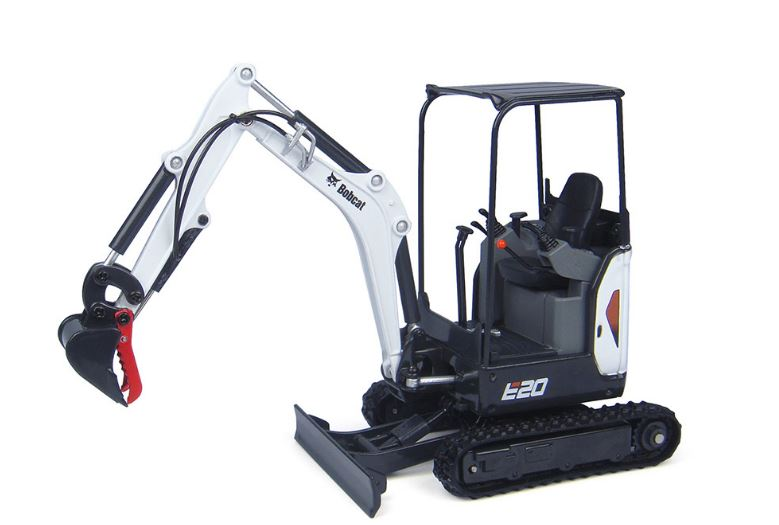 Bobcat E20 Mini Excavator Overview