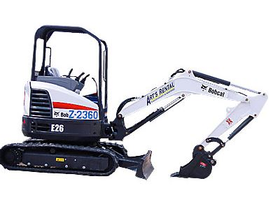 Bobcat E26 Mini Excavator Specifications