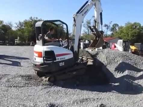 Bobcat E32 Mini Excavator Key Facts