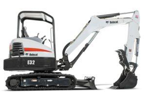 Bobcat E32 Mini Excavator Price