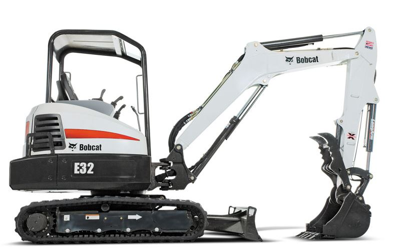 Bobcat E32 Mini Excavator Price