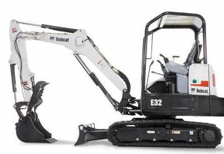 Bobcat E32 Mini Excavator specification