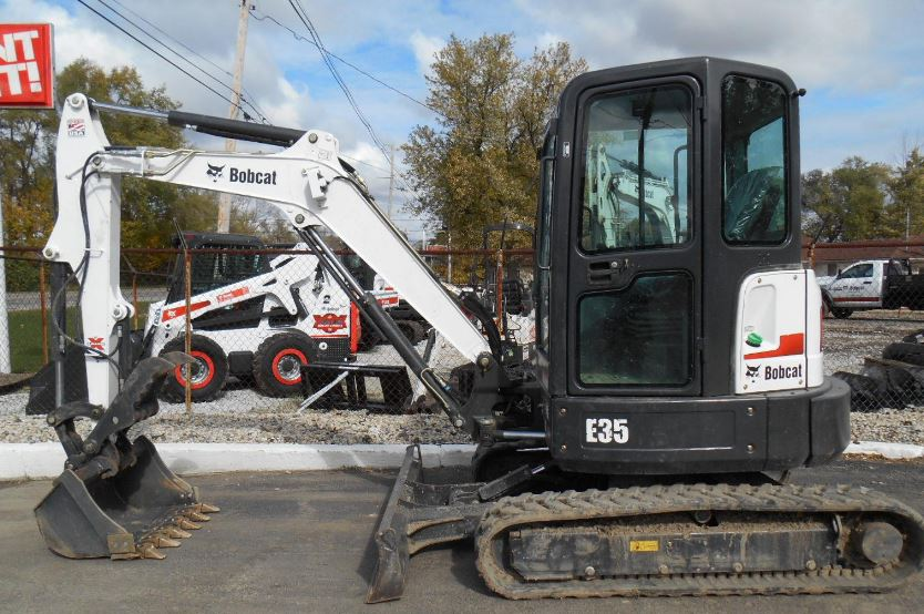 Bobcat E35 Mini Excavator Key facts