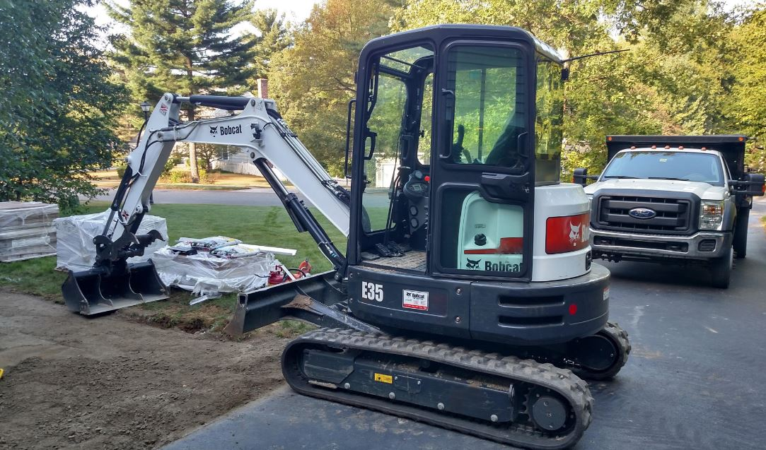 Bobcat E35 Mini Excavator Overview