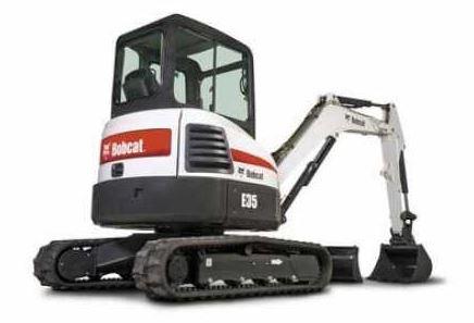 Bobcat E35 Mini Excavator Specs